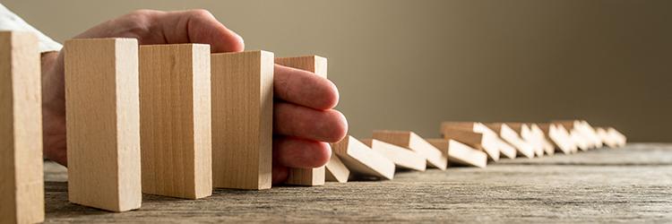 Wood dominos