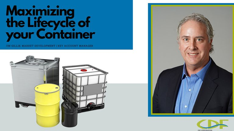 Recycle containers with man